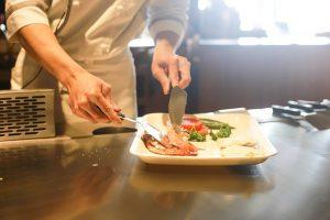 Frokostordning i København forberedt af Nordic Catering.